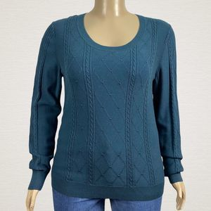 Banana Republic Fctry Cable Knit Pullover Sweater